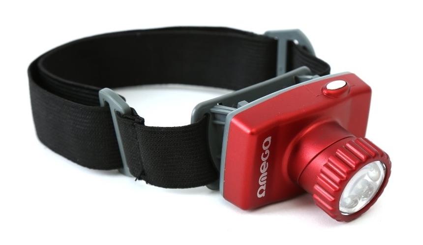 OMEGA LED Φακός Κεφαλής, 8 LED - OMEGA 11060