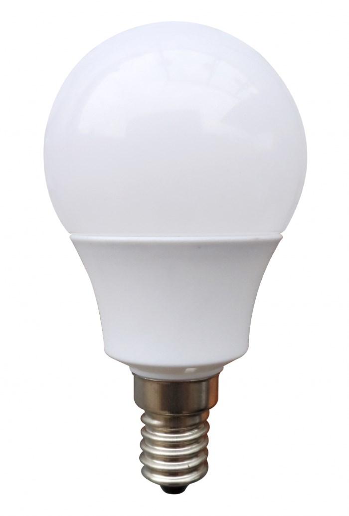 OMEGA LED Λάμπα Bulb 3W, Warm White 2800K, E14 - OMEGA 9664