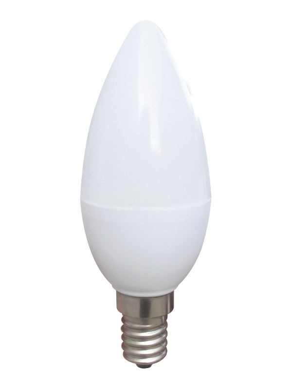 OMEGA LED Λάμπα Candle 3.2W, Warm White 2800K, E14 - OMEGA 9659