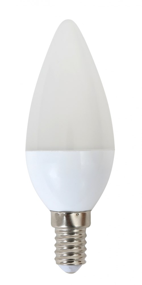 OMEGA LED Λάμπα Candle 5W, Warm White 2800K, E14 - OMEGA 9656