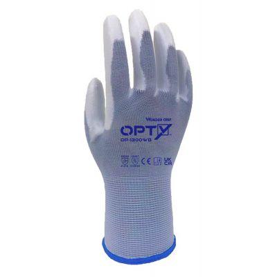 WONDER GRIP αντιολισθητικά γάντια εργασίας Opty 1300WB, L/09, μπλε - WONDER GRIP 43309