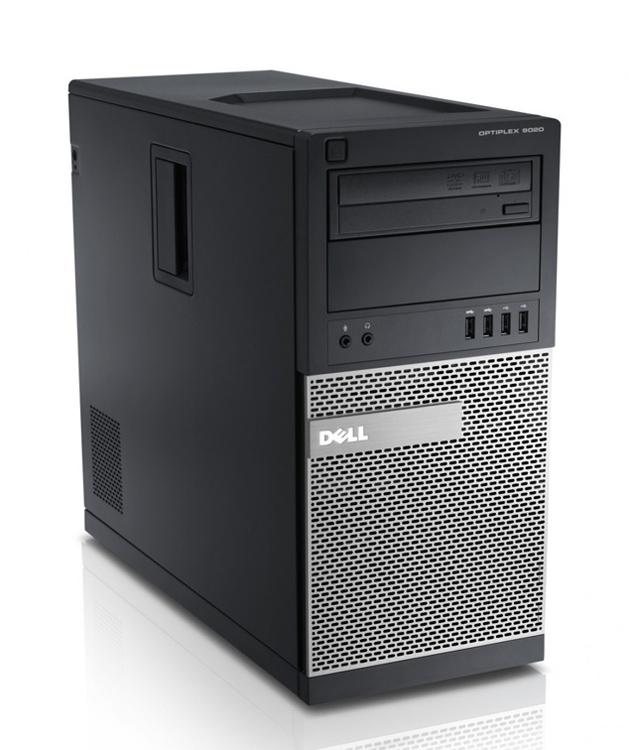 DELL PC 9020 MT, i5-4590, 4GB, 500GB HDD, DVD, REF SQR - DELL 43536