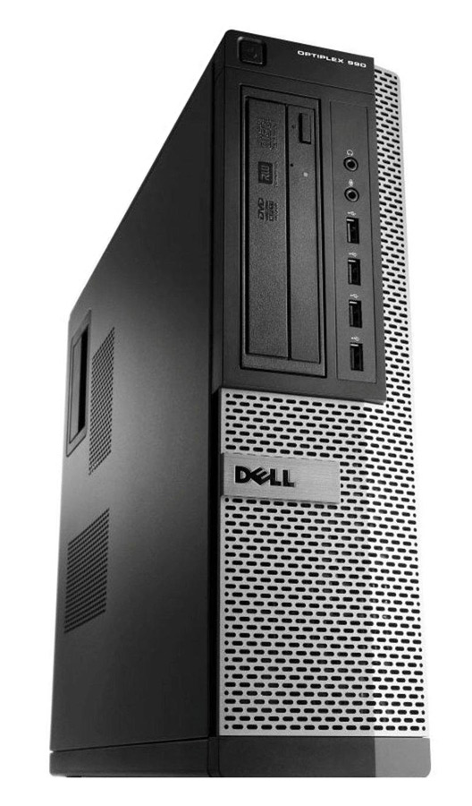 DELL SQR PC Optiplex 990 DT, i5-2400, 4GB, 250GB, DVD, Βαμμένο - DELL 17289