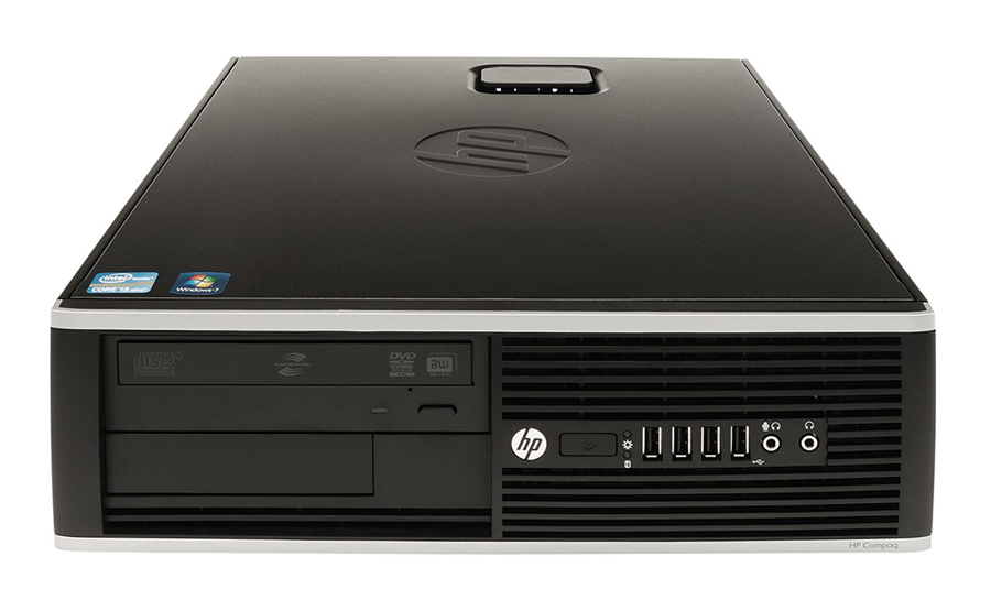 HP SQR PC Elite 8100 SFF, i7-860, 4GB, 250GB HDD, DVD, Βαμμένο - HP 17587