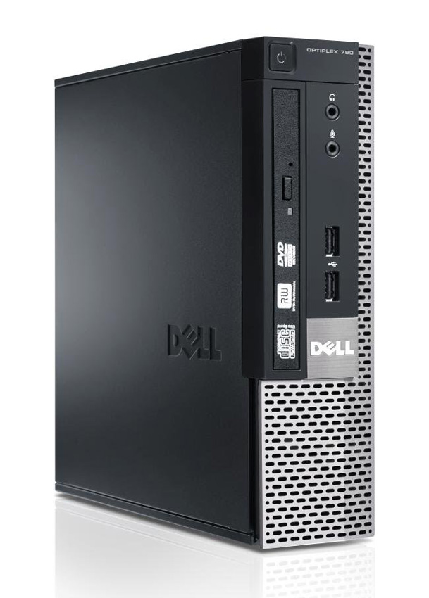 DELL SQR PC Optiplex 790 USFF, i3-2100, 4GB, 320GB HDD, DVD, Βαμμένο - DELL 17618