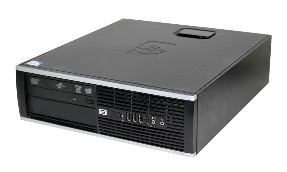 HP SQR PC 6005 Pro SFF, Phenom II X3 B75, 4GB, 250GB HDD, DVD, Βαμμένο - HP 18048