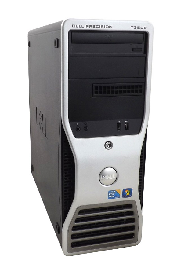 DELL SQR Workstation T3500, Xeon X5550, 6GB, 250GB HDD, DVD, Βαμμένο - DELL 18468