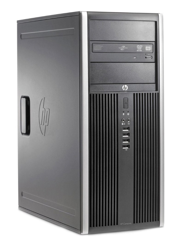 HP SQR PC 6200 Pro MT, i3-2100, 4GB, 250GB HDD, DVD, Βαμμένο - HP 18839