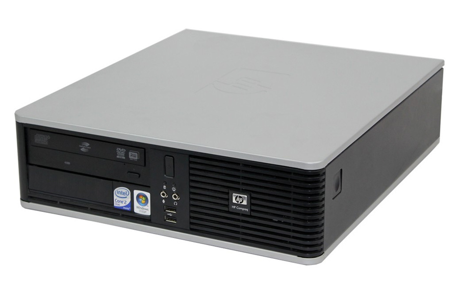 HP SQR PC Compaq DC7900 SFF, E7500, 4GB, 250GB HDD, DVD, Βαμμένο - HP 22770