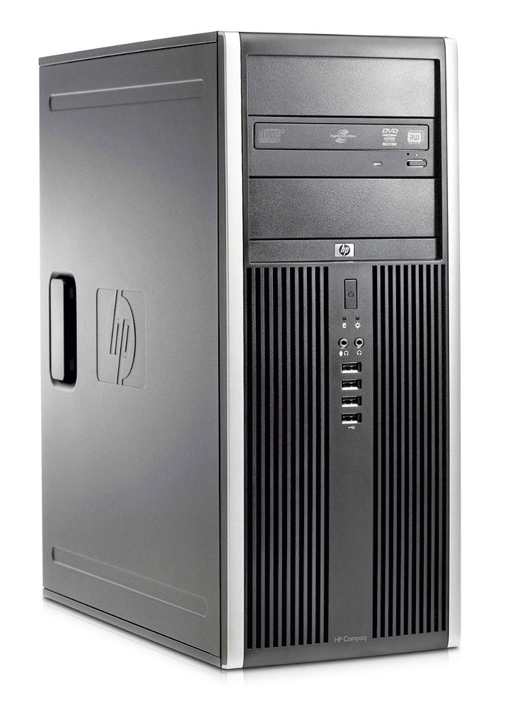 HP SQR PC Compaq 8200 MT, i5-2500, 4GB, 250GB HDD, DVD, Βαμμένο - HP 22955