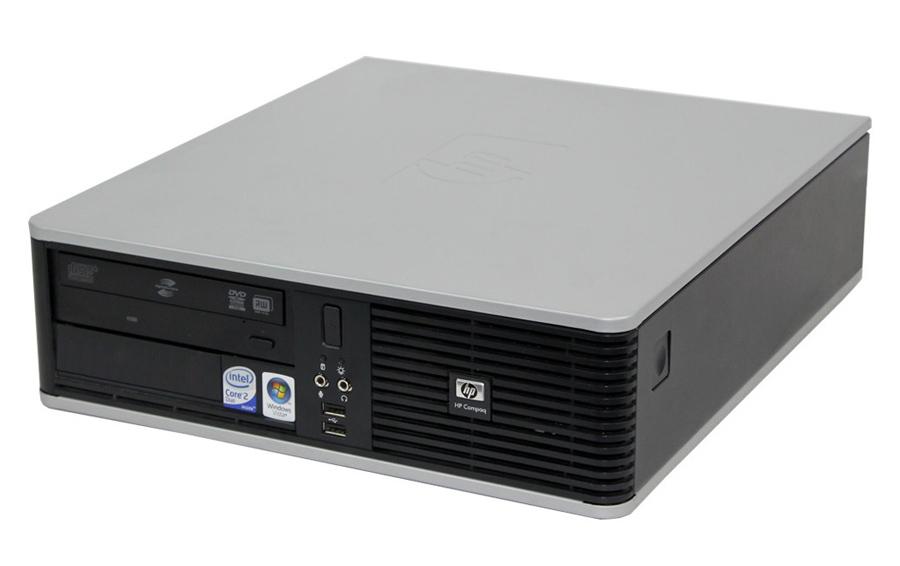HP PC DC7900 SFF, E8500, 4GB, 250GB HDD, DVD, REF SQR - HP 25571
