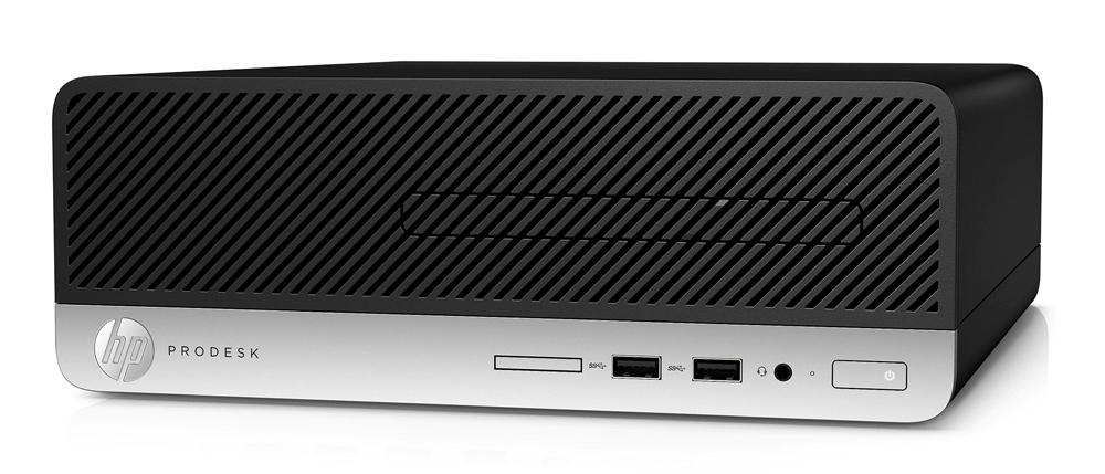 HP PC 400 G4 SFF, i5-7500, 8GB, 120GB SSD, DVD-RW, REF SQR - HP 27286