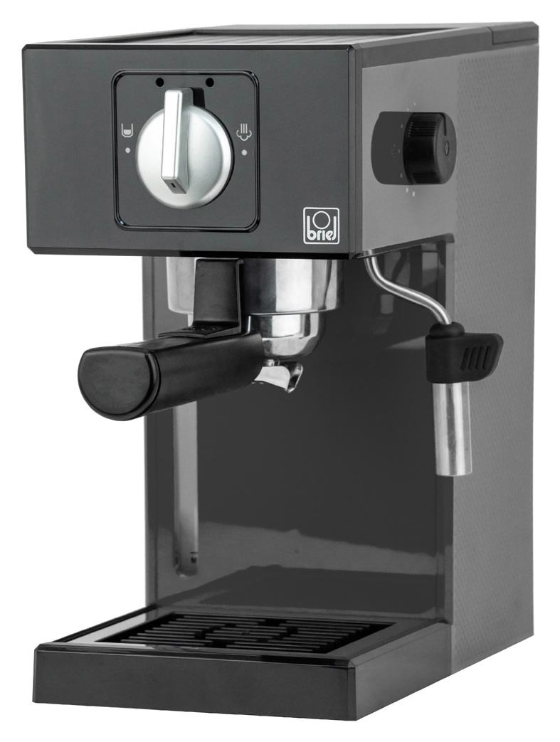 BRIEL μηχανή espresso A1 PFA01A03C31000 1000W, 20 bar, 10 χρόνια εγγύηση - BRIEL 36747
