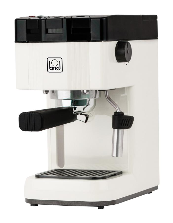 BRIEL μηχανή espresso B15, 20 bar, μπεζ, 10 χρόνια εγγύηση - BRIEL 37404