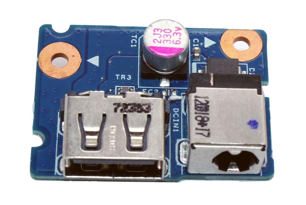 DC Power Jack for Lenovo G580, USB Board - UNBRANDED 13941