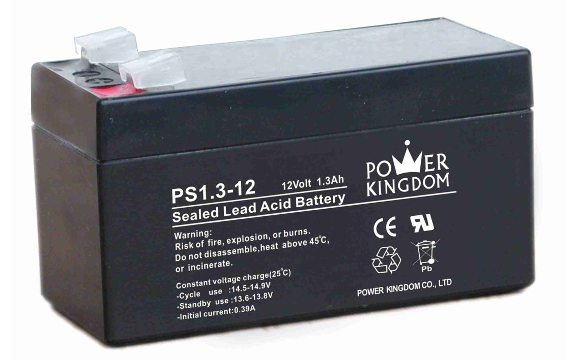 POWER KINGDOM Μπαταρία Μολύβδου 12Volt 1.3Ah - POWER KINGDOM 6902