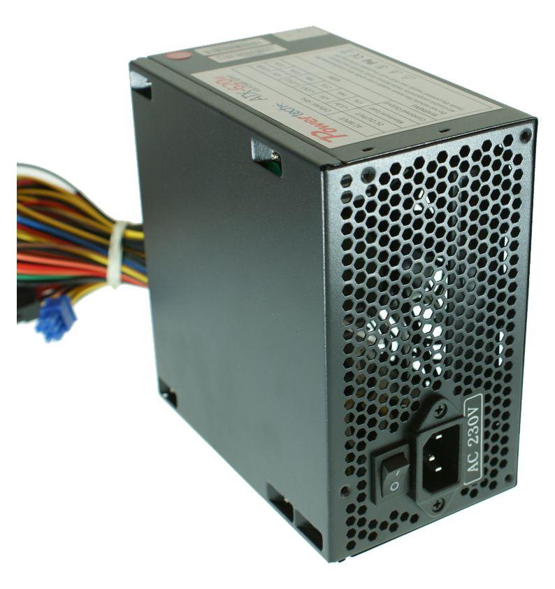 POWERTECH τροφοδοτικό για PC, 620watt, με θερμική ασφάλεια - POWERTECH 748