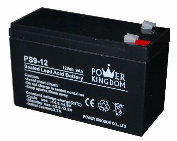 Powerkingdom μολύβδου battery 12Volt 9Ah - POWER KINGDOM 1735