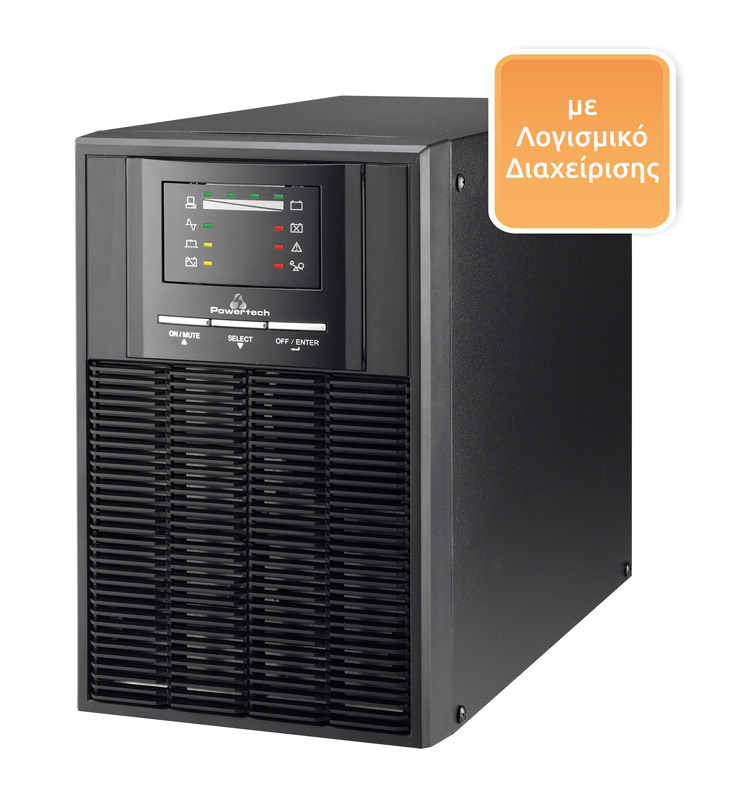 POWERTECH UPS On Line,1000VA/700WATT - POWERTECH 6889