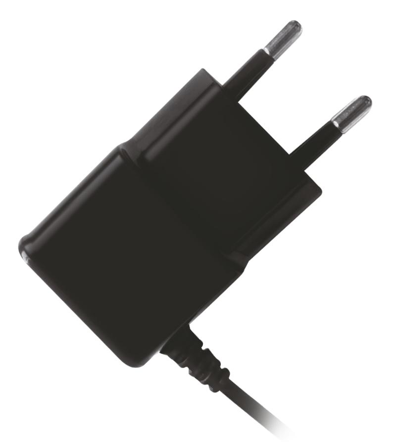 POWERTECH Φορτιστής Τοίχου PT-418, USB Micro με καλώδιο, 2.1A, Black - POWERTECH 14582