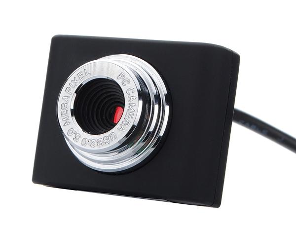 POWERTECH Web Camera PT-507 0.3MP, Video, με κλιπ, Black - POWERTECH 16827