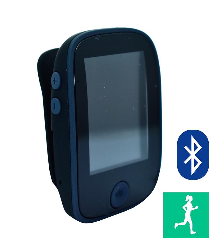 POWERTECH Video-music player PT-661, Bluetooth, Pedometer, FM, μαύρο - POWERTECH 18122