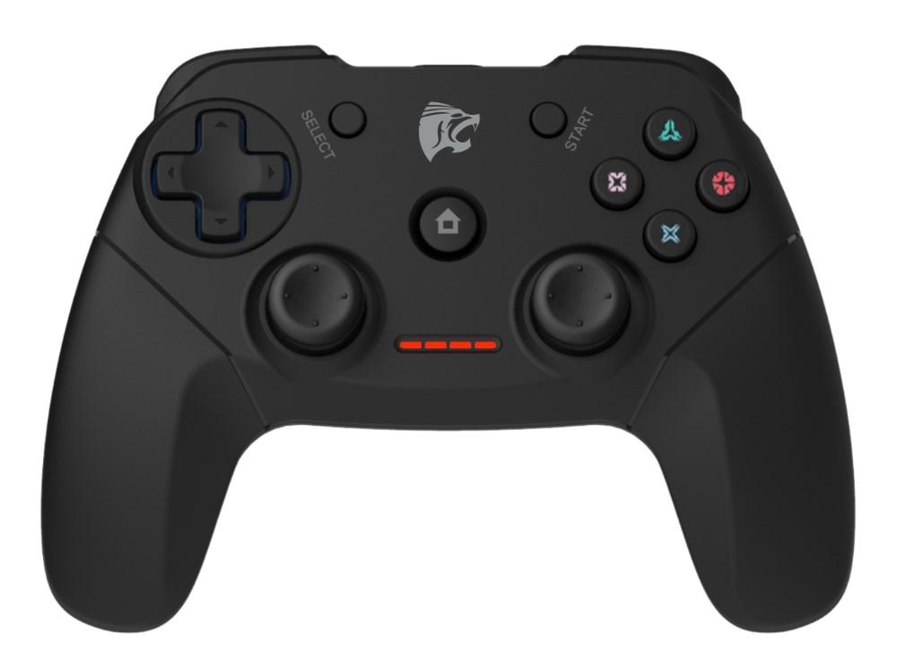 ROAR Gamepad για PC/PS2/PS3, Wireless, Vibration, 600mAh, Black - ROAR 17617