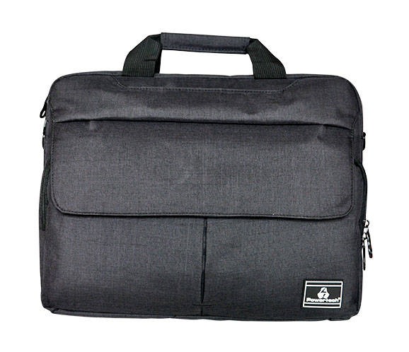 "POWERTECH τσάντα ώμου PT-699 για Laptop  έως 15.6"", γκρι - POWERTECH 22435"