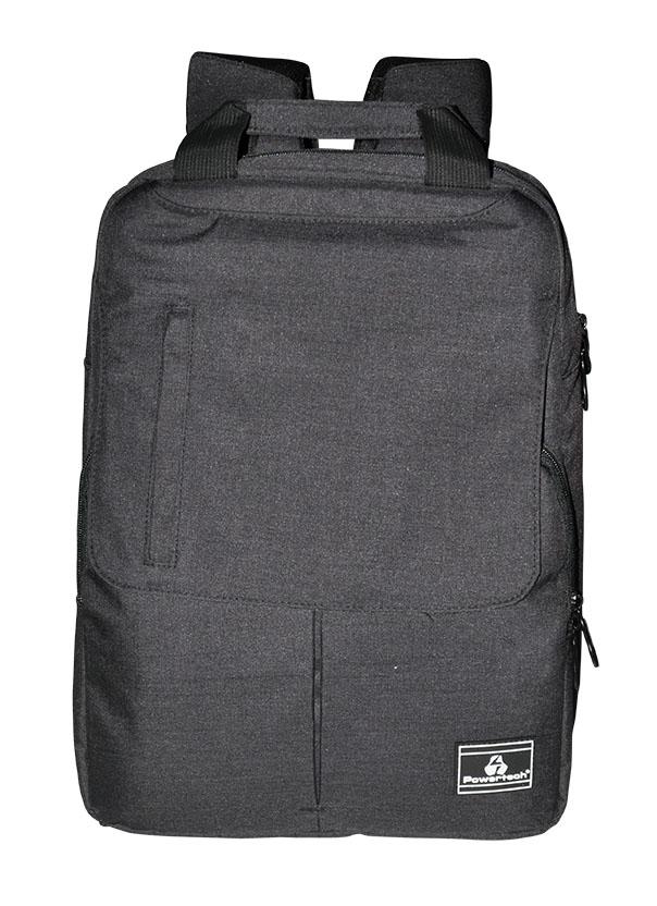 "POWERTECH Τσάντα πλάτης PT-700 για laptop έως 15.6"", γκρι - POWERTECH 22436"