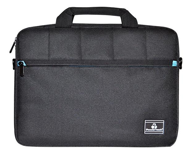 "POWERTECH τσάντα ώμου PT-702 για Laptop έως 15.6"", μαύρη - POWERTECH 22438"