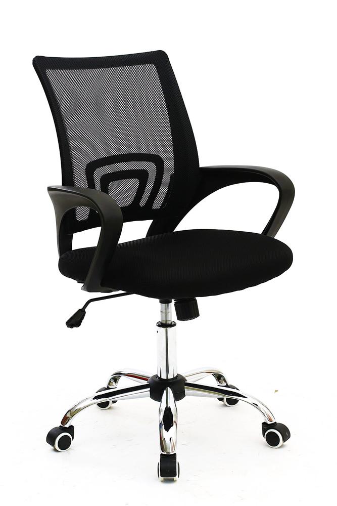 POWERTECH Καρέκλα γραφείου PT-726, ρυθμιζόμενη, με υποβραχιόνια, μαύρη - POWERTECH 23471