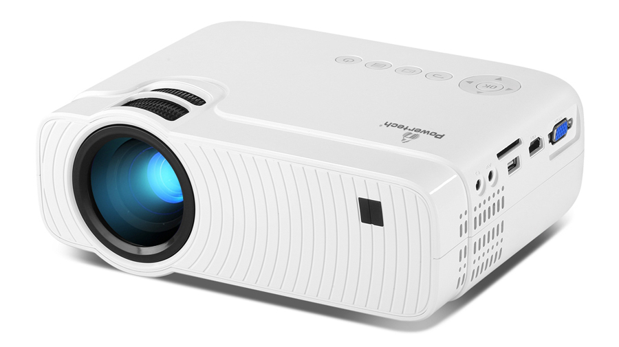 POWERTECH Projector PT-828, Wi-Fi Airplay, 720p, HDMI, Android - POWERTECH 28915