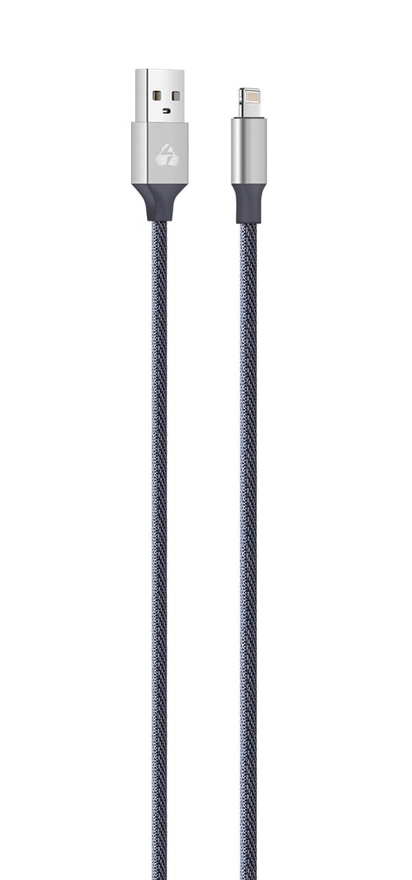 POWERTECH Καλώδιο USB σε Lightning eco small PTR-0049 copper, 1m, ασημί - POWERTECH 23093