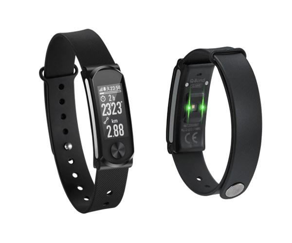 Q-BAND Heart Fitness Band Q-68HR, με Smart Notification, Black - Q-BAND 15151