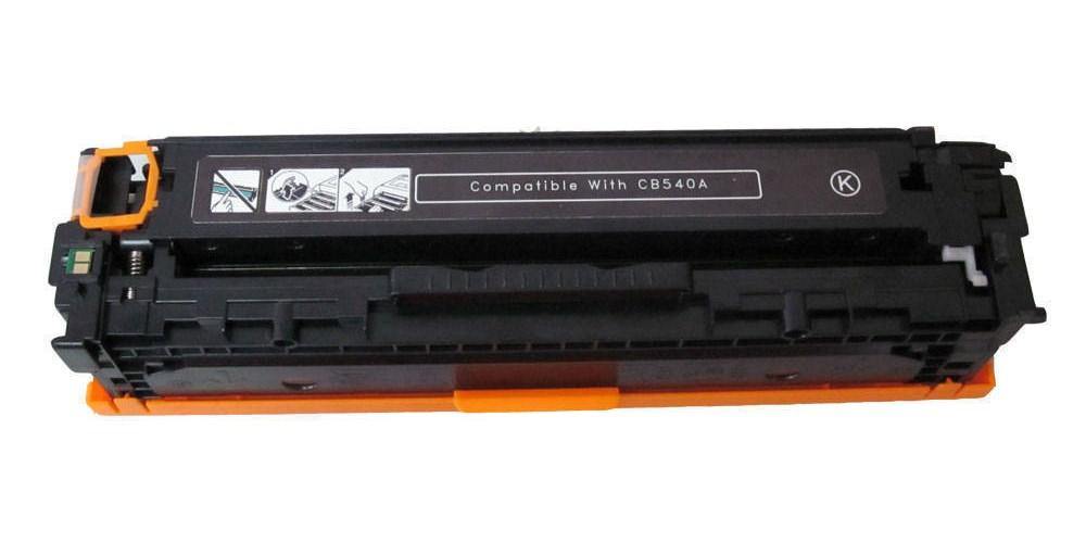 Ανακατασκευασμένο Toner για HP, CB540A CRG-716BK, Black, 2.2K - RADUGA-Συμβατό 968