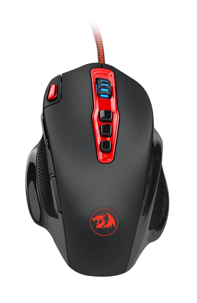 REDRAGON ενσύρματο Gaming ποντίκι M805 Hydra, Laser, 11 πλήκτρα - REDRAGON 18094