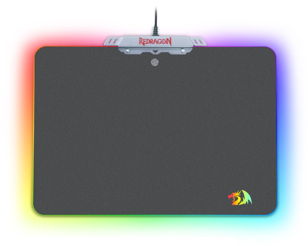 REDRAGON Gaming Mousepad P008 Kylin, με RGB LED backlit, 350x250x3.6mm - REDRAGON 18109
