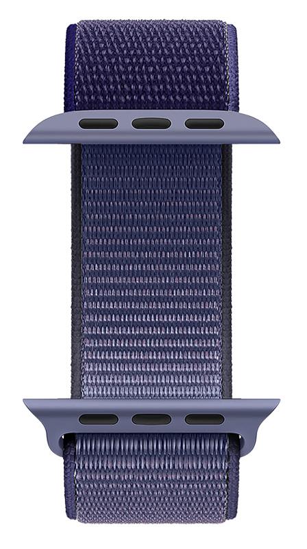 ROCKROSE nylon weave band Caveman για Apple Watch 42/44mm, μπλε - ROCKROSE 42652