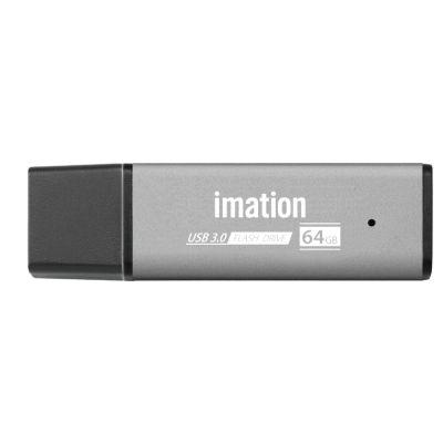 IMATION USB Flash Drive HJ3 RT03030064SV, 64GB, USB 3.0, ασημί - IMATION 33157