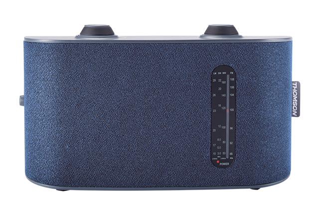 THOMSON Φορητό ραδιόφωνο RT252, 4 bands, μπλε - THOMSON 18510