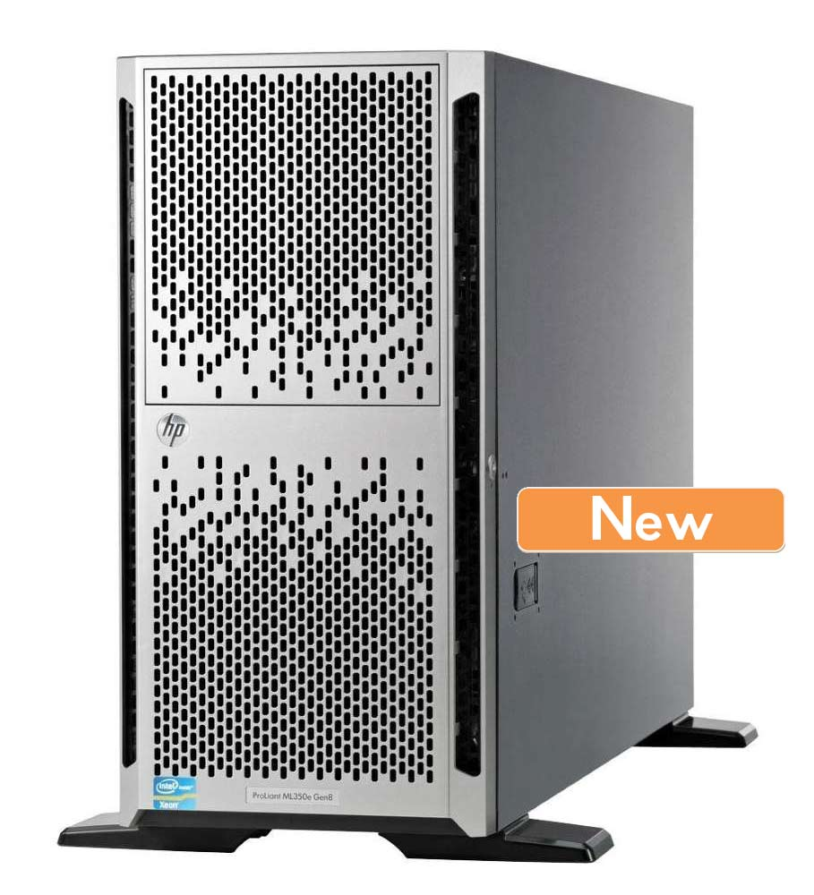 HP Server ML350E G8 Tower, E5-2407, 4GB, DVD-ROM - HP 10947