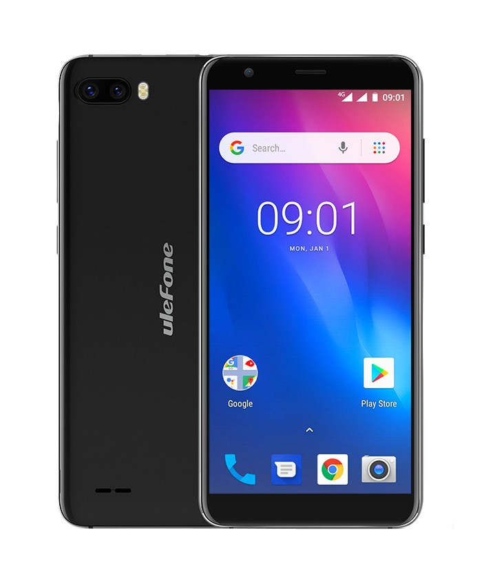 "ULEFONE Smartphone S1 Pro 4G, 5.5"", 8.1 GO Edition 1/16GB, 4-Core, μαύρο - ULEFONE 22448"
