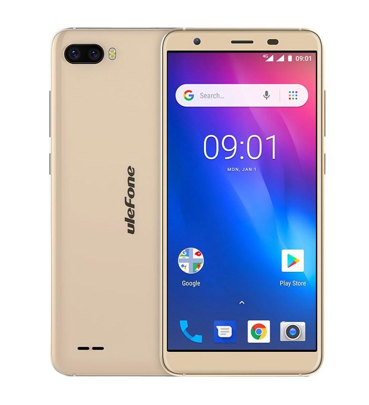 "ULEFONE Smartphone S1 Pro 4G, 5.5"", 8.1 GO Edition 1/16GB, 4-Core, χρυσό - ULEFONE 22449"