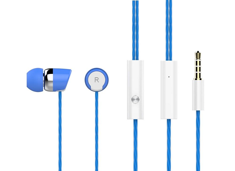 CELEBRAT Ακουστικά Handsfree S20-BL, On-Off, Blue - CELEBRAT 7095