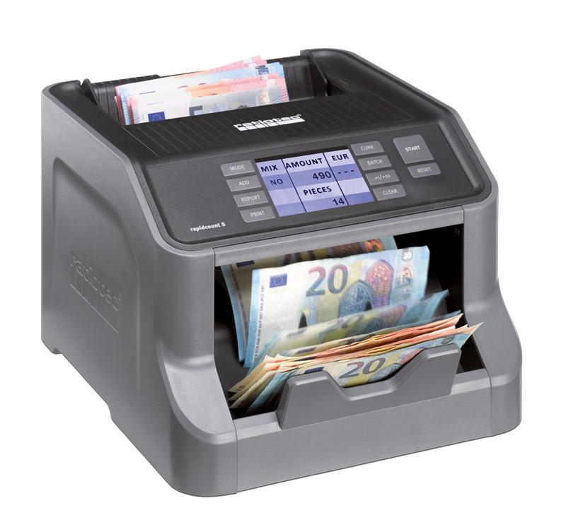 RATIOTEC Ανιχνευτής & καταμετρητής χαρτονομισμάτων Rapidcount S275 - RATIOTEC 17286