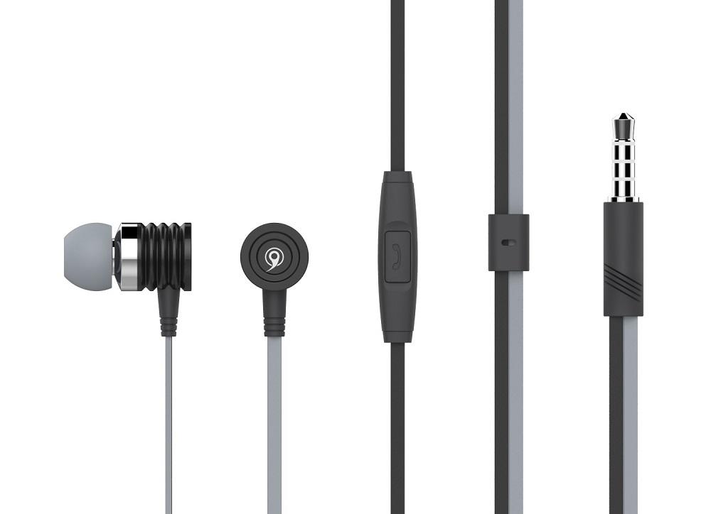 CELEBRAT Ακουστικά Handsfree S50-BK, On-Off, Black - CELEBRAT 7087