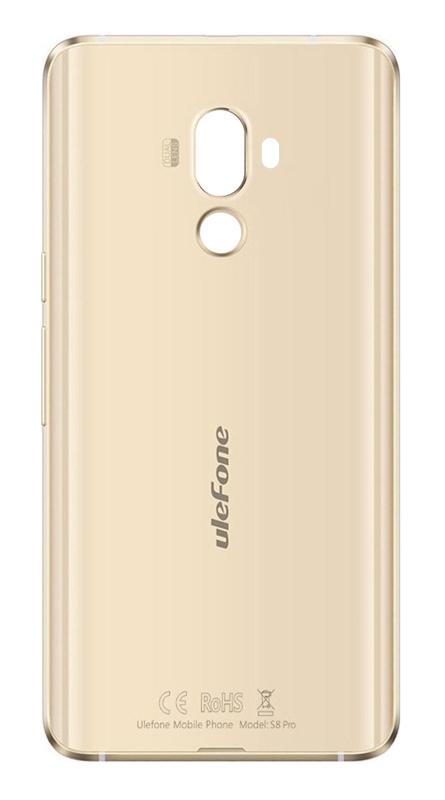 ULEFONE Battery Cover για Smartphone S8 Pro, Gold - ULEFONE 16891