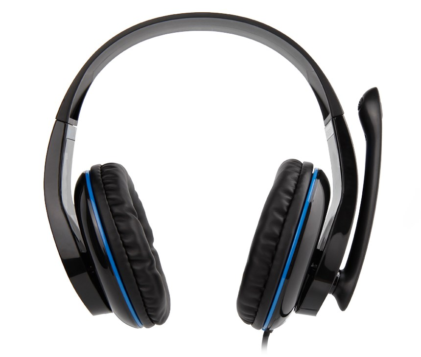 SADES Gaming headset Tpower με 40mm ακουστικά, Blue - SADES 10540