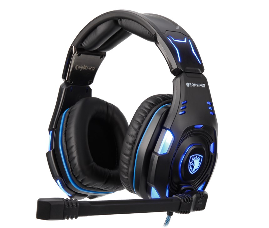 SADES Gaming Headset Knight Pro, USB, Bongiovi Acoustics DPS - SADES 17703