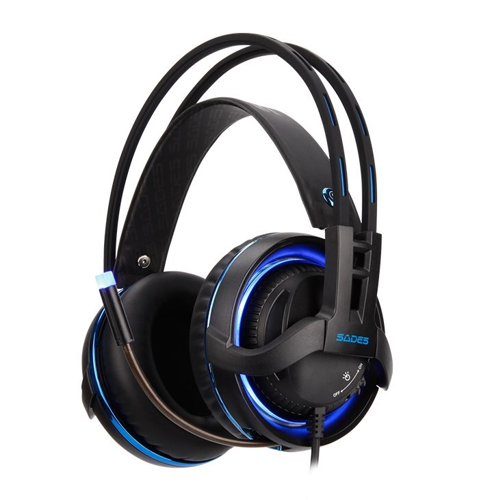 SADES Gaming Headset Diablo, USB, Realtek Audio, RGB LED - SADES 17702